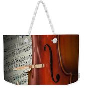 Cello Bridge And Beethoven Weekender Tote Bag