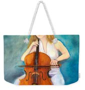 Cello Player Weekender Tote Bag