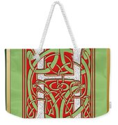 Celtic Christmas H Initial Weekender Tote Bag