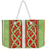 Celtic Christmas I Initial Weekender Tote Bag