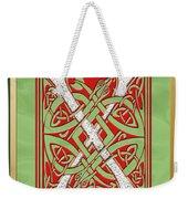 Celtic Christmas X Initial Weekender Tote Bag