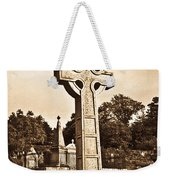 Celtic Cross In Sepia 1 Weekender Tote Bag