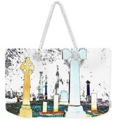 Celtic Crosses Weekender Tote Bag