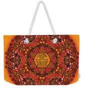 Celtic Fall Fairy Mandala Weekender Tote Bag