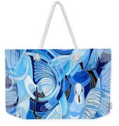Celtic Peace Dove Greeting Card Weekender Tote Bag
