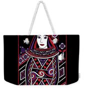 Celtic Queen Of Hearts Part I Weekender Tote Bag