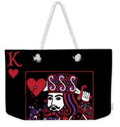 Celtic Queen Of Hearts Part IIi The King Of Hearts Weekender Tote Bag