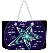 Celtic Twinkle Twinkle Weekender Tote Bag