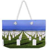 Cemetery At Waterfront, Fort Rosecrans Weekender Tote Bag