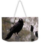 Cemetery Crows Weekender Tote Bag