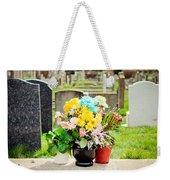 Cemetery Flowers Weekender Tote Bag