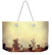 Cemetery In The Fog Weekender Tote Bag