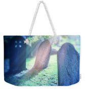 Cemetery Light Weekender Tote Bag