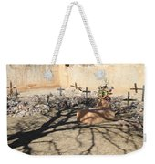 Cemetery Tumacacori Mission Weekender Tote Bag
