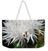 Centaurea Named The Bride Weekender Tote Bag