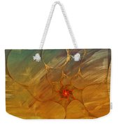 Center Of A Cyclone Weekender Tote Bag