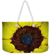 Center Of A Sunflower Weekender Tote Bag