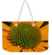 Center  Of Cone Flower Weekender Tote Bag
