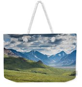 Center Of The Valley Weekender Tote Bag