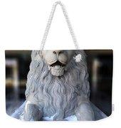 Center Street Lion Weekender Tote Bag
