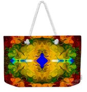 Centered In Peace Abstract Pattern Artwork By Omaste Witkowski Weekender Tote Bag