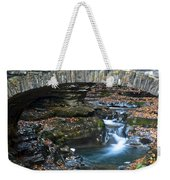 Central Cascade Weekender Tote Bag by Frozen in Time Fine Art Photography