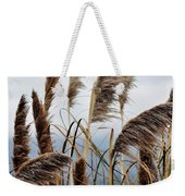 Central Coast Pampas Grass Weekender Tote Bag