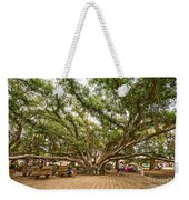 Central Court - Banyan Tree Park In Maui. Weekender Tote Bag
