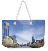 Central Melbourne Skyline By Day Australia Weekender Tote Bag