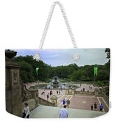 Central Park - Bethesda Fountain Weekender Tote Bag