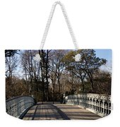 Central Park Bridge Shadows Weekender Tote Bag