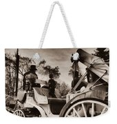 Central Park Carriage Ride - Antique Appeal Weekender Tote Bag