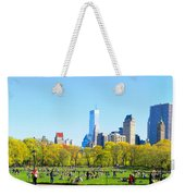 Central Park Panoramic View Weekender Tote Bag