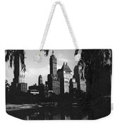 Central Park Evening View Weekender Tote Bag