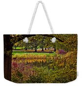 Central Park In Autumn - Nyc Weekender Tote Bag