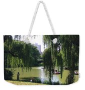 Central Park In The Summer Weekender Tote Bag