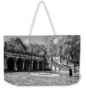 Central Park - Near Bethesda Fountain Weekender Tote Bag