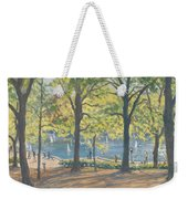 Central Park New York Weekender Tote Bag by Julian Barrow