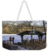 Central Park Photo Op 2 - Nyc Weekender Tote Bag by Madeline Ellis