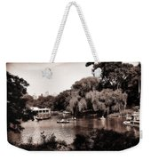 Central Park Rowing - New York City Weekender Tote Bag