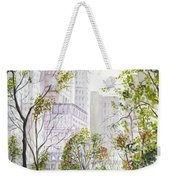 Central Park Stroll Weekender Tote Bag