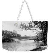 Central Park The Lake Weekender Tote Bag