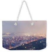 Central Park West Pano Weekender Tote Bag