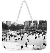 Central Park Winter Carnival Weekender Tote Bag
