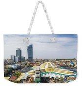 Central Phnom Penh In Cambodia Weekender Tote Bag