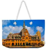 Central Railroad Of New Jersey Terminal Weekender Tote Bag