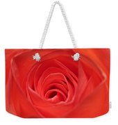 Centre Of A Rose Weekender Tote Bag