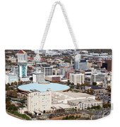 Century II Convention Hall And Downtown Wichita Weekender Tote Bag