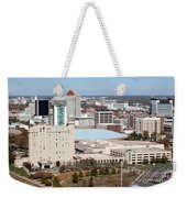 Century II Convention Hall And Hyatt Weekender Tote Bag