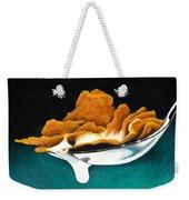 Cereal In Spoon With Milk Weekender Tote Bag